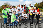 Danielle and Lorraine O'Sullivan right launch the Stephanie O'Sullivan memorial cycle which will be held in Milltown on Sunday 4th June at 10am l-r: Rosemary Healy, mary O'Sullivan, Tanya Joy, Siobhain O'Shea, Aisling McKenna, Mary Sheehan, Dann Joe O'Sullivan, Nuala Allman, Joan Regan and Margaret Moriarty