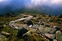 LOW TATRA MOUNTIANS, SK - SEPTEMBER 2005: Biospheres Expedition, Low Tatra Mountains, Slovakia