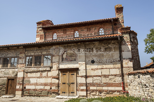 Church of Saint Stephen, also known as Holy Virgin Mary the Life Giving Source Church, Nessebar, Bulgaria  June 2015.<br /> CAP/MEL<br /> &copy;MEL/Capital Pictures /MediaPunch ***NORTH AND SOUTH AMERICA ONLY***