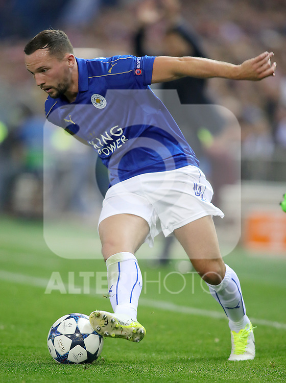 Leicester City FC's Danny Drinkwater during Champions League 2016/2017 Quarter-finals 1st leg match. April 12,2017. (ALTERPHOTOS/Acero)