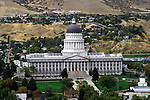 Utah, Salt Lake City, The Capitol. .Photo # utsalt615.  Photo copyright Lee Foster.  .