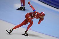 SCHAATSEN: HEERENVEEN: IJsstadion Thialf, 06-10-2012, Trainingswedstrijd, Janine Smit, ©foto Martin de Jong