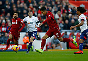9th February 2019, Anfield, Liverpool, England; EPL Premier League football, Liverpool versus AFC Bournemouth; Roberto Firmino of Liverpool goes past Nathan Ake of Bournemouth on the edge of the Bournemouth penalty area