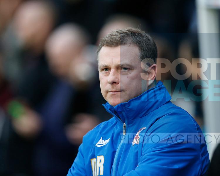 Mark Robins manager of Scunthorpe Utd - English League One - Scunthorpe Utd vs Sheffield Utd - Glandford Park Stadium - Scunthorpe - England - 19th December 2015 - Pic Simon Bellis/Sportimage