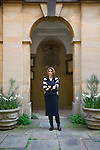Elif Shafak at Corpus Christi College during the Sunday Times Oxford Literary Festival, UK, 2-10 April 2011. <br />