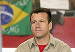 12 September 2007: Brazil head coach Dunga. The Brazil Men's National Team defeated the Mexico Men's National Team 3-1 at Gillette Stadium in Foxborough, Massachusetts in an international friendly.