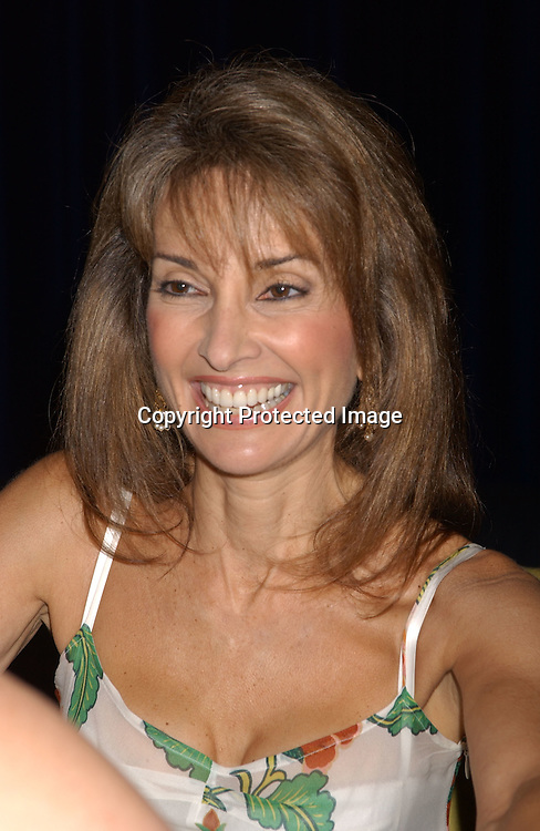 Susan Lucci                                ..at the All My Children Fan Club Luncheon on August 10, 2003 at the Marriott Marquis in New York.                           Photo by Robin Platzer, Twin Images