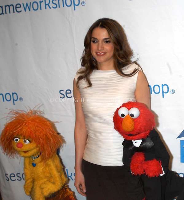WWW.ACEPIXS.COM *** NO U.K. NEWSPAPERS SALES ***....NEW YORK, JUNE 1, 2005....Queen Rania attends the Third Annual Sesame Workshop Benefit Gala at Cipriani 42nd Street on June 1, 2005 in New York City.....Please byline: R. BOCKLET-ACE PICTURES.   ..  ***  ..Ace Pictures, Inc:  ..Craig Ashby (212) 243-8787..e-mail: picturedesk@acepixs.com..web: http://www.acepixs.com