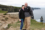 Allison and I at The Cliffs of Moher in County Clare, Ireland on Friday June 21st 2013. (Photo by Julie Ann Caulfield)
