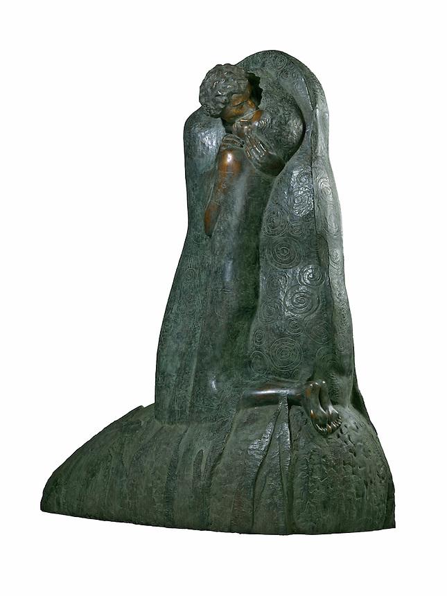 WAARDENBURG - Beelden bij bronsgieterij Steylaert