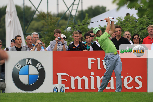 Sergio Garcia (ESP) during round one of the BMW International Open, Golf Club Gut Lärchenhof,Cologne,Germany. 21/6/12.Picture Fran Caffrey www.golffile.ie