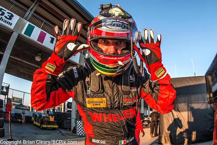 Max Papis, 12 Hours of Sebring, Sebring International Raceway, Sebring, FL, March 2015.  (Photo by Brian Cleary/ www.bcpix.com )