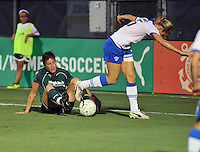 Taryn Hemmings Abby Wambach   Boston Breakers vs. MagicJack at the FAU Field  Boca Raton, FL August 17, 2011 WPS First Round Playoffs