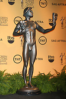 LOS ANGELES - DEC 10:  The Actor Statue at the 21st Annual Screen Actors Guild Awards Nominations Announcement at the Pacific Design Center on December 10, 2014 in West Hollywood, CA