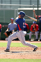Drew Robinson - Texas Rangers - 2010 Instructional League.Photo by:  Bill Mitchell/Four Seam Images..