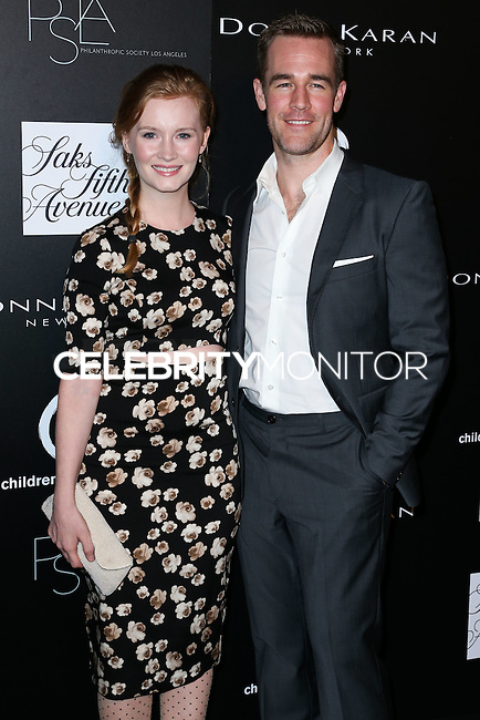 CULVER CITY, CA, USA - OCTOBER 08: Kimberly Van Der Beek, James Van Der Beek arrive at the 5th Annual PSLA Autumn Party benefiting Children's Institute, Inc. held at 3Labs on October 8, 2014 in Culver City, California, United States. (Photo by Xavier Collin/Celebrity Monitor)