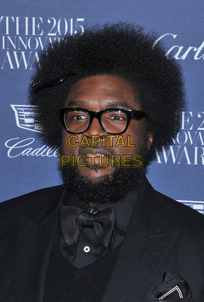 New York,NY-November 4: Quest love attend the WSJ. Magazine 2015 Innovator Awards at the Museum of Modern Art on November 4, 2015 in New York City. <br /> CAP/MPI/STV<br /> &copy;STV/MPI/Capital Pictures