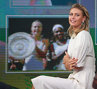 NEW YORK, NY- SEPTEMBER 12:  Maria Sharapova at Good Morning America promoting her new book Unstoppable: My Life So Far on September 12, 2017 in New York  City. <br /> CAP/MPI/RW<br /> &copy;RW/MPI/Capital Pictures