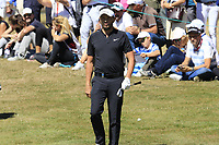 Mike Lorenzo-Vera (FRA) at the 5th green during Sunday's Final Round 4 of the 2018 Omega European Masters, held at the Golf Club Crans-Sur-Sierre, Crans Montana, Switzerland. 9th September 2018.<br /> Picture: Eoin Clarke | Golffile<br /> <br /> <br /> All photos usage must carry mandatory copyright credit (&copy; Golffile | Eoin Clarke)