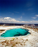 USA, Wyoming, thermal pool at West Thumb Geyser Basin, Yellowstone National Park