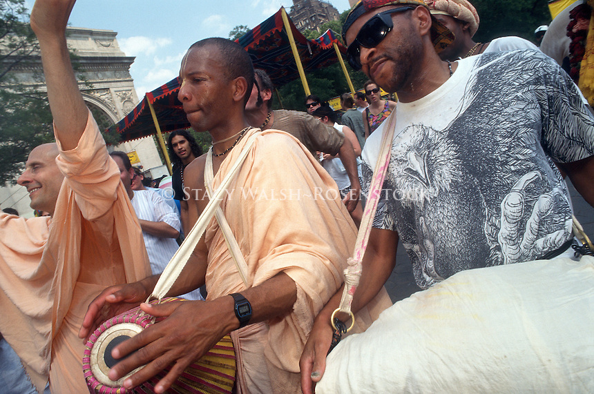 New York, NY - Hare Krishna Festival of the Charriots in Washington Square Park