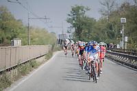 Team FDJ pacing the peloton<br /> <br /> 98th Milano - Torino 2017 (ITA) 186km