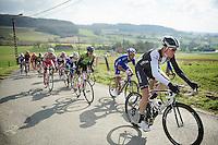 Boy Van Poppel (NLD) up the Côte des Papins (12%)<br /> <br /> GP Le Samyn 2014