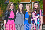 FASHION: Enjoying a great time at the Fashion Show in aid of the Paul Curran Trust at the Meadowlands hotel, Tralee on Friday l-r: Siobhan Long, Deirdre Laffan, Lorna Canty and Natasha Glock, Tralee...
