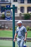 Lee Westwood (GBR) approaches the 8 tee box during Saturday's round 3 of the PGA Championship at the Quail Hollow Club in Charlotte, North Carolina. 8/12/2017.<br /> Picture: Golffile | Ken Murray<br /> <br /> <br /> All photo usage must carry mandatory copyright credit (&copy; Golffile | Ken Murray)