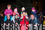 Me and my dad<br /> -------------------<br /> Waiting for Santa to arrive in Killorglin last Sunday evening were L-R Michael&amp;Rebecca O'Sullivan,Michael&amp;Haley Cunningham,Barry&amp;Ummi Clarke and James&amp;Naomi McCormack al from the town.