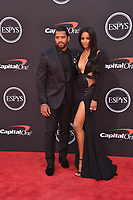 LOS ANGELES, USA. July 10, 2019: Ciara & Russell Wilson at the 2019 ESPY Awards at the Microsoft Theatre LA Live.<br /> Picture: Paul Smith/Featureflash