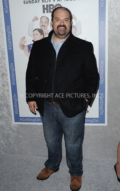 ACEPIXS.COM<br /> <br /> October 28 2014, LA<br /> <br /> Mel Rodriquez arriving at the Los Angeles Premiere of HBO's 'Getting On' held at Avalon on October 28, 2014 in Hollywood, California.<br /> <br /> By Line: Peter West/ACE Pictures<br /> <br /> ACE Pictures, Inc.<br /> www.acepixs.com<br /> Email: info@acepixs.com<br /> Tel: 646 769 0430