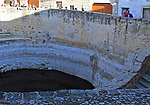 Water storage cistern in  medieval town of Trujillo, Caceres province, Extremadura, Spain