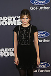 Entertainment Tonight Correspondent Carly Steel a Paramount Pictures and Red Granite Pictures presents the New York Premiere of Daddy's Home sponsored by Ford Motor Company held at AMC Lincoln Square