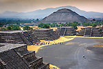 Pyramid of the Sun was part of an ancient Mesoamerican city called Teotihuacan in the Valley of Mexico.  It is the third largest pyramid in the world and the site is a UNESCO World Heritage Site.