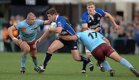 2005/06 Heineken Cup, Bath Rugby vs Bourgoin, The Rec, Bath,  ENGLAND:  Bath's Micheal Lipman, goes for the gap, as Bath attack in the second half.  29.10.2005   © Peter Spurrier/Intersport Images - email images@intersport-images..