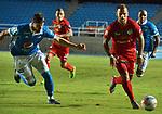 Millonarios venció como visitante 2-0 a Cortuluá. Fecha 17 Liga Águila II-2017.