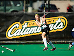 25 October 2009: University of Vermont Catamount defender Sarah Becque, a Sophomore from Westborough, MA, in action against the Columbia University Lions at Moulton Winder Field in Burlington, Vermont. The Lions shut out the Catamounts 1-0. Mandatory Credit: Ed Wolfstein Photo