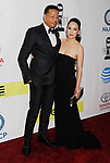 PASADENA, CA - FEBRUARY 11: Actor Terrence Howard (L) and wife Miranda Pak arrive at the 48th NAACP Image Awards at Pasadena Civic Auditorium on February 11, 2017 in Pasadena, California.