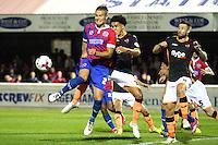 Dagenham & Redbridge vs Exeter City 18-08-15