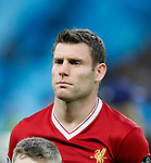 Liverpool's James Milner in action during the Champions League Quarter Final 2nd Leg match at the Etihad Stadium, Manchester. Picture date: 10th April 2018. Picture credit should read: David Klein/Sportimage