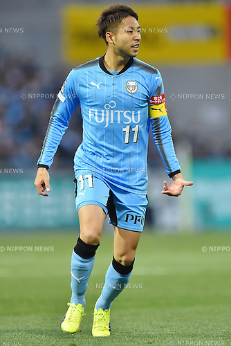 Yu Kobayashi (Frontale),<br /> FEBRUARY 25, 2017 - Football / Soccer :<br /> 2017 J1 League match between Omiya Ardija 0-2 Kawasaki Frontale at NACK5 Stadium Omiya in Saitama, Japan. (Photo by AFLO)