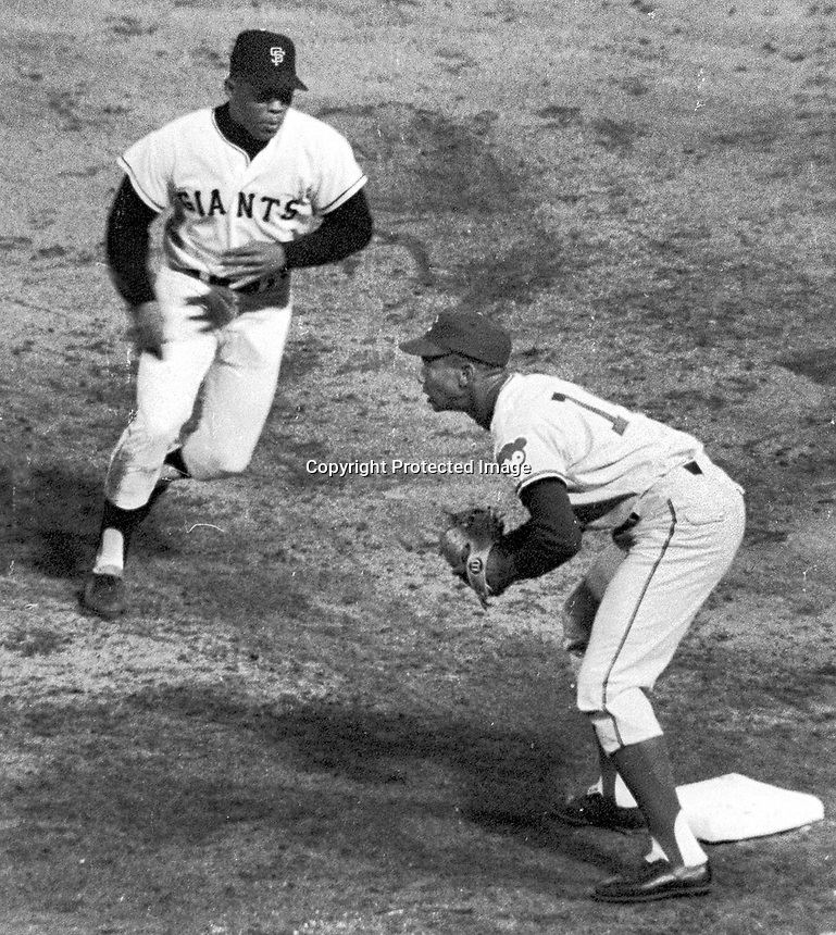 Giants vs. Chicago Cubs 1966, Willie Mays and Cub's<br />