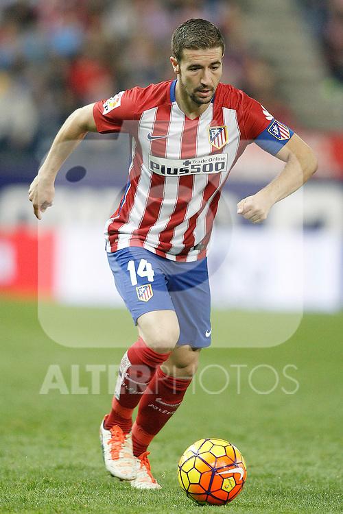 Atletico de Madrid's Gabi Fernandez during La Liga match. November 8,2015. (ALTERPHOTOS/Acero)
