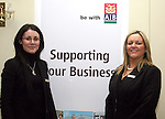 Sandra Doyle and Marie Lyons, AIB at the  Louth County Enterprise Lunch in The Boyne Valley Hotel...Photo NEWSFILE/Jenny Matthews.(Photo credit should read Jenny Matthews/NEWSFILE)....This Picture has been sent you under the condtions enclosed by:.Newsfile Ltd..The Studio,.Millmount Abbey,.Drogheda,.Co Meath..Ireland..Tel: +353(0)41-9871240.Fax: +353(0)41-9871260.GSM: +353(0)86-2500958.email: pictures@newsfile.ie.www.newsfile.ie.FTP: 193.120.102.198.