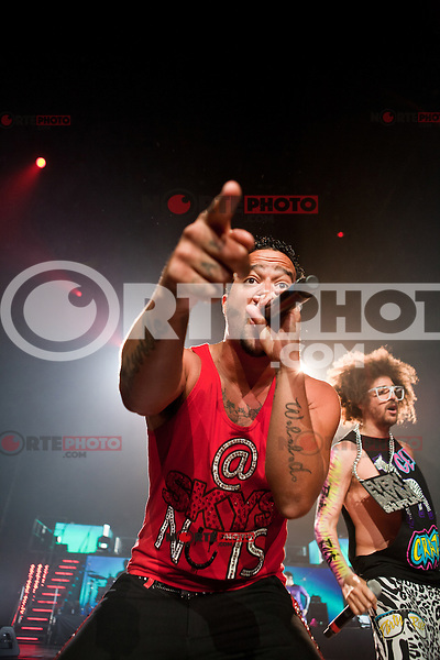LMFAO performing live at The Palace Of Auburn Hills in Auburn Hills, Michigan on May 23, 2012. © Joe Gall / MediaPunch Inc.