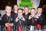 Scoil Nuachabhail, Ballymac pupils sold Photo Magnets at the Young Entrepreneur finals in the Malton Hotel on Thursday l-r: Evan Boyle, michael prendergast, Evan O'Brien, Conor Daly, Padraic heffernan, Micheal Culloty