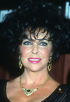 Elizabeth Taylor<br /> 1990s<br /> Photo By Michael Ferguson/CelebrityArchaeology.com