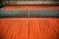Macchina per tessitura Filato rosso Bute tartan mills