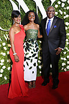 NEW YORK, NY - JUNE 11:  Denee Benton (C) and family attend the 71st Annual Tony Awards at Radio City Music Hall on June 11, 2017 in New York City.  (Photo by Walter McBride/WireImage)